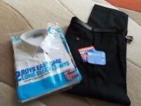 Boys Black Trousers
