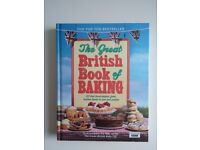 The Great British Book of Baking Hardback NEW!