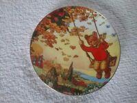 Wedgwood rupert bear collectors plate