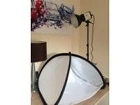 Photography lamp and light tent