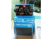 Boss PS6 Harmonist pedal Excellent Condition Like MINT