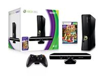 XBOX 360 4GB Console with Kinect Boxed (Boxed) plus extras