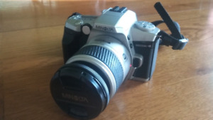 35 mm camera and case