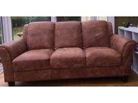 2 Peyton Sofas, 3 seaters, Colour: 'Ranch'. As new, would sell separately.