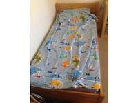 Children's single bed - breaks down into 2 single beds