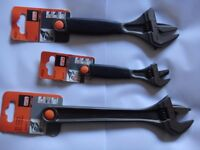 3 x New Bahco shifting adjustable spanners as per pictures £15 each (no offers please)