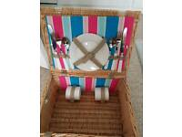 Picnic Hamper (never been used!)
