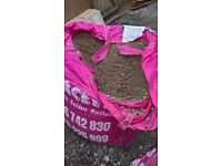 3/4 ton bag of Bracey's 20 down to dust