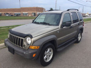 2006 Jeep Liberty Sports *REDUCED*  *CERTIFIED*