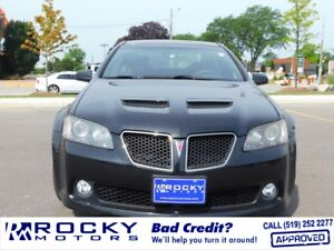 Pontiac G8 - BAD CREDIT APPROVALS
