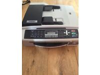 beother mfc-240c all in one colour printer , scanner, copier and fax machine