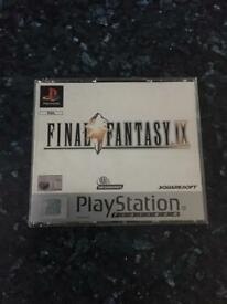 Sony PlayStation Ps1 Final Fantasy 9 game