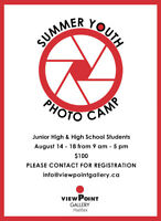 Summer Youth Photo Camp