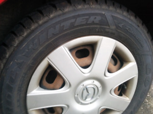 Goodyear Almost brand new winter tires