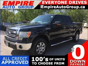 2013 FORD F-150 XLT * 4WD * LOW KM