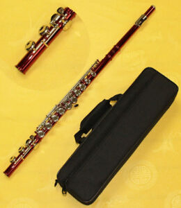 Flute Red Finish