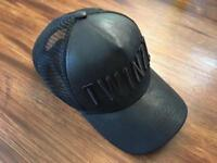 twinzz hat cap leather