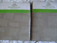 Brand New, 2 Matching, Single Duvet Covers. Beige Colour