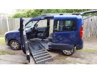 Fiat Doblo Ride Up Front Mobility Vehicle