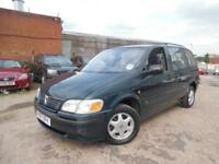 VAUXHALL SINTRA/ZAFIRA CD 2.2 PETROL 7 SEATER SPARES AND REPAIRS