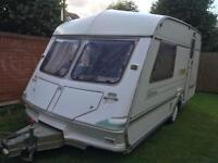 2 berth abbey caravan 1992