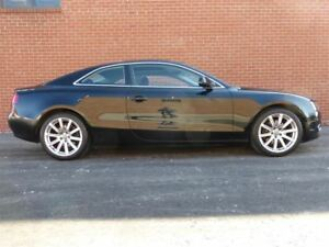 2010 Audi A5 6 SPD -- BLACK ON BLACK -- A.W.D