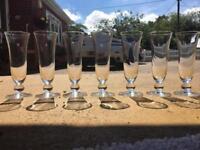 7 Wine/Cocktail Glasses