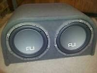 Fli subs with built in amp