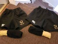 Garnock rugby shorts