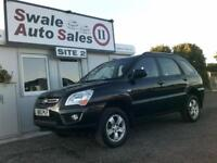 2010 KIA SPORTAGE XE 2L ONLY 37,422 MILES - FULL SERVICE HISTORY - 2 OWNERS