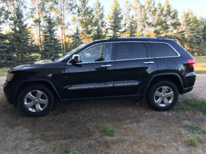 2011 Jeep Grand Cherokee Limited Black SUV, Crossover
