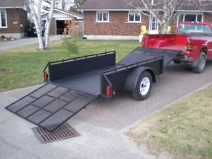 Double Ramp Trailer
