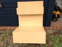 Pair of IKEA malm bedside tables . Discontinued
