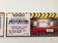 Leeds Festival Weekend Ticket
