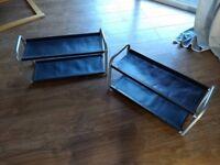 2 x Ikea Shoe Racks