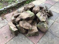 30+ Assorted Sized Rockery Rocks