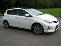 2013 62 REG Toyota Auris 1.8 VVT-i HSD ( 136bhp ) E-CVT Excel 5 DOOR SAT/NAV
