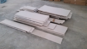 """1/2"""" drywall pieces - new"""