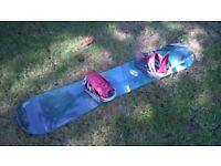 Solomon Driver 160 snowboard