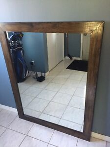 Solid Wood Mirror 3 feet X 4 feet