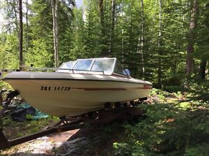Boat for sale $2500 included motor and trailer