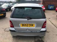 Mercedes-Benz A140 1.4 Classic ~ 2002/52 ~ Years Mot ~