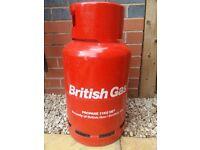 Gas bottle cannister