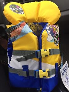 Toddler life jacket, brand new, up to 30lbs
