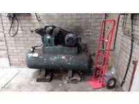Large garage air compressor