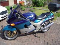 ZZR1100 Very Low Mileage Will Have 1 Year Mot