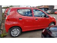 SUZUKI ALTO 2014 20,000 MILES 1.0 PETROL 5 DOOR HATCHBACK MANUAL RED