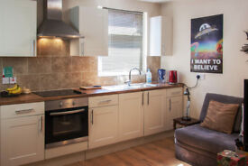 FULLY FURNISHED MODERN 1 BED FLAT - LE2 - AVAILABLE 8TH AUGUST - £525