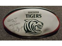 Tim stimpson leicester tigers international rugby autograph