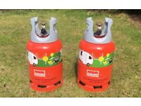 2x Calor Gas Lite 6KG Full Propane Gas